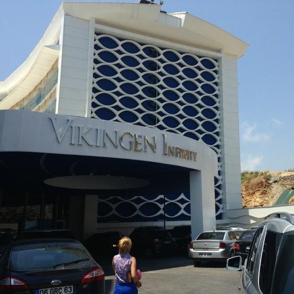 6/25/2013 tarihinde Çagrı A.ziyaretçi tarafından Vikingen Infinity Resort Hotel & Spa'de çekilen fotoğraf