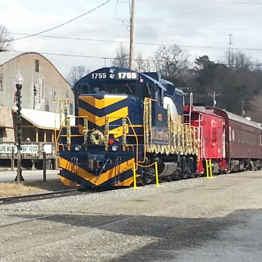 Photo taken at Great Smoky Mountain Railroad by Pierre R. on 12/7/2012