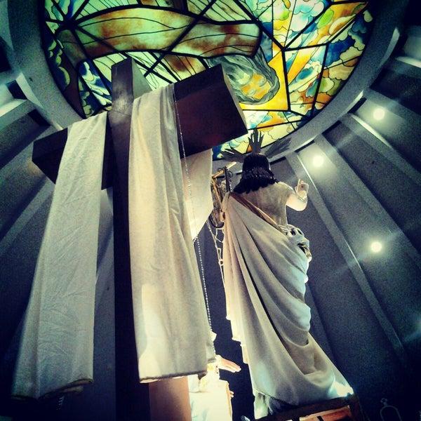 Photo taken at Sto. Niño de Paz Community Chapel by Adrian M. on 4/27/2013