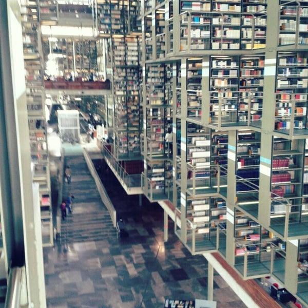 Photo taken at Biblioteca Vasconcelos by Mario Alberto P. on 8/23/2013