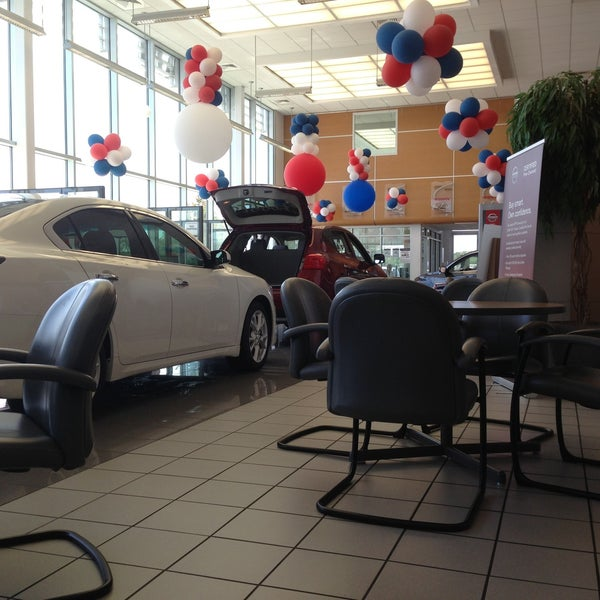 Photo Taken At Sandy Sansing Nissan By Miguel D. On 5/13/2013