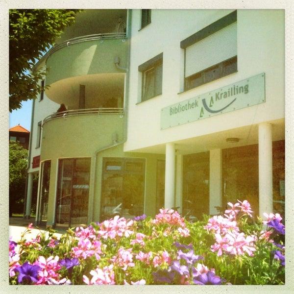 Photo taken at Gemeindebibliothek Krailling by polarraven on 7/16/2013