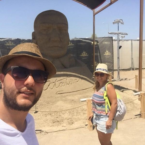 6/30/2017 tarihinde Gürcan K.ziyaretçi tarafından Sandland'de çekilen fotoğraf