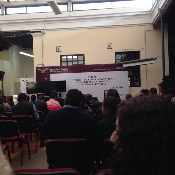 Photo taken at SCJN Casa De La Cultura Jurídica, EDOMEX by Kitty S. on 5/30/2014
