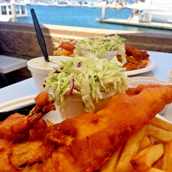 Photo taken at Harbor Fish and Chips by Erin A. on 6/5/2014