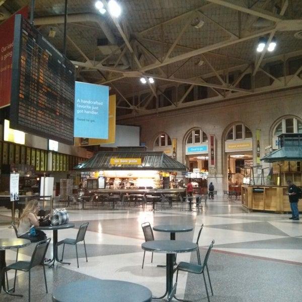 Photo taken at South Station Terminal (MBTA / Amtrak) by Jon M. on 7/15/2013