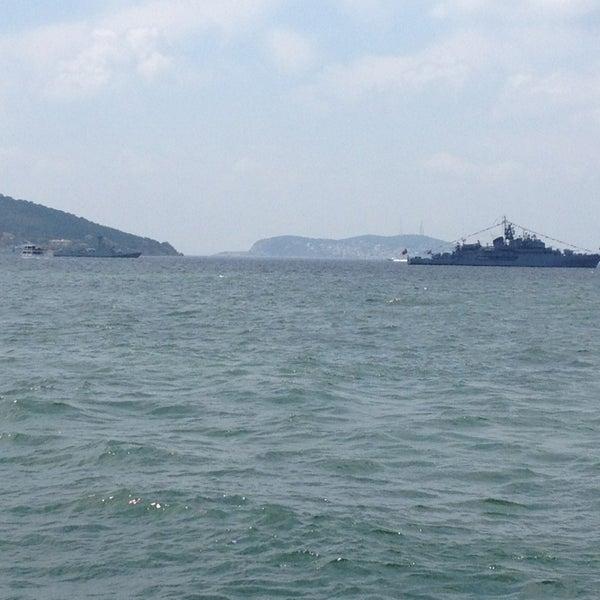 Photo taken at Büyükada Mavi Marmara Motor İskelesi by Maksut B. on 7/5/2013