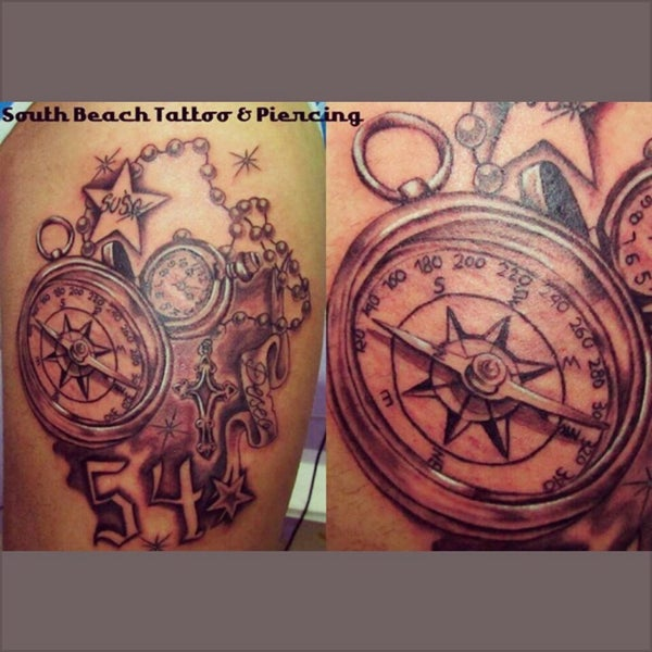Photo Taken At South Beach Tattoo Piercing By Made In Germany T On