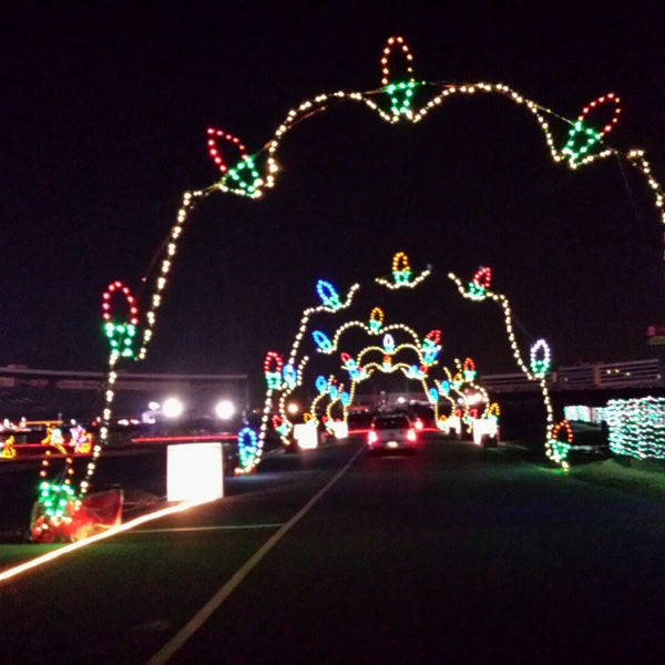 photo taken at charlotte motor speedway victory lane club parking by roni on 1129 - Charlotte Motor Speedway Christmas Lights 2014