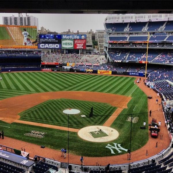 Photo taken at Yankee Stadium by Clayton M. on 7/14/2013