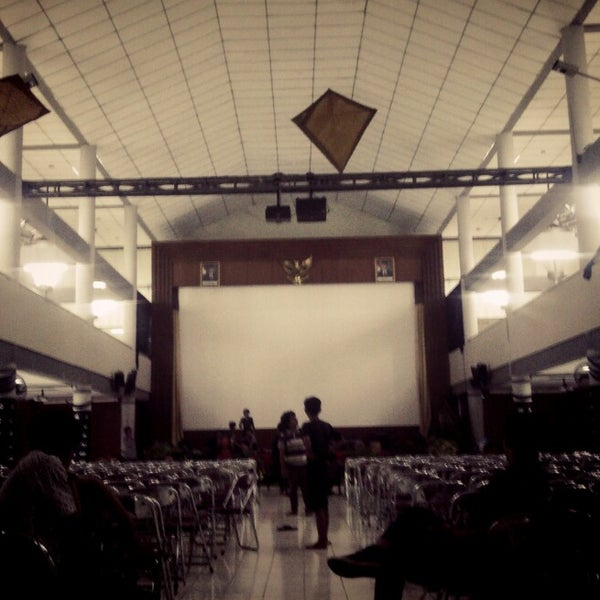 Photo taken at Gedung Serba Guna (GSG) by Ahmad I. on 2/9/2014
