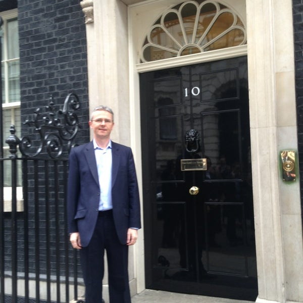 Photo taken at 10 Downing Street by Paul K. on 4/5/2013
