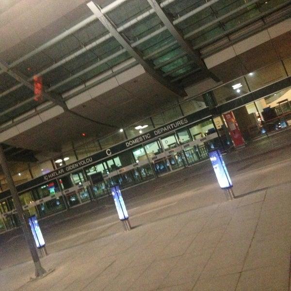 Photo taken at Ankara Esenboğa Airport (ESB) by Arzu dmrky on 11/19/2013