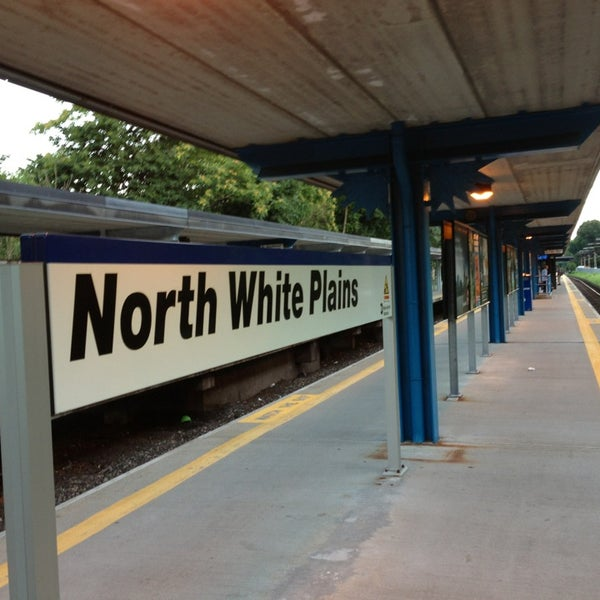 Photo taken at Metro North - North White Plains Station by Seth F. on 8/4/2013
