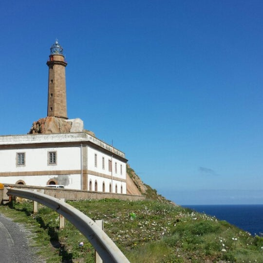 Photo taken at Faro de Cabo Vilán by Santi on 5/31/2014