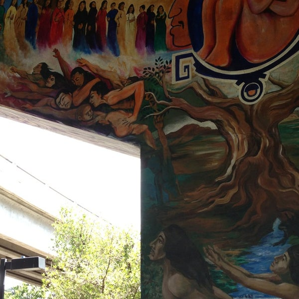 Photo taken at Chicano Park by Sophie L. on 8/19/2013