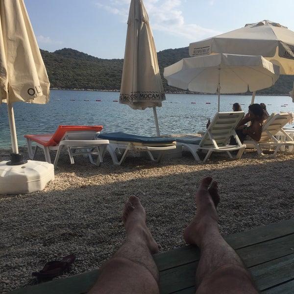 8/17/2017 tarihinde Erkan T.ziyaretçi tarafından Olympos Mocamp Beach Club'de çekilen fotoğraf