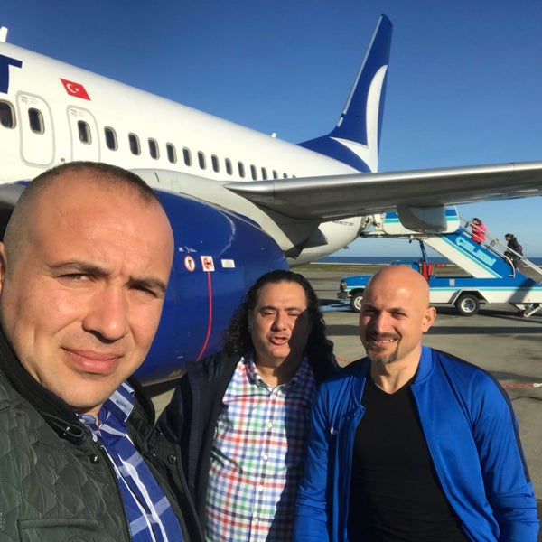 Photo taken at TAV Airports by MUTLU A. on 1/20/2018
