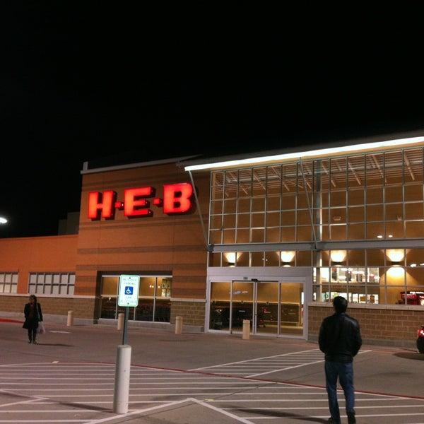Photo taken at H-E-B by Prithvi on 1/4/2013