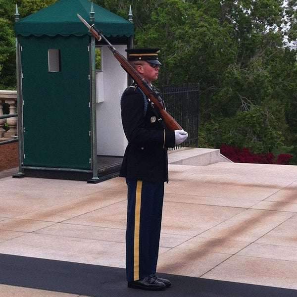 Photo taken at Arlington National Cemetery by Prithvi on 5/10/2013