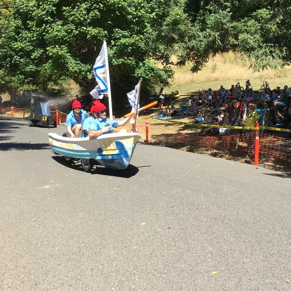Mt tabor adult soapbox race