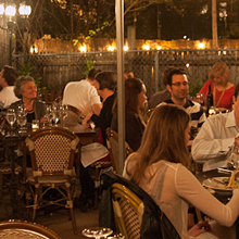 Enjoy great Italian soul food in our amazing garden!