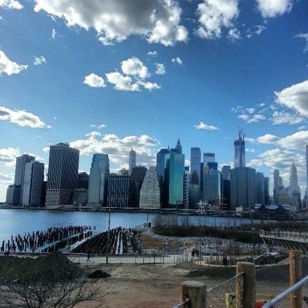 Photo taken at Brooklyn Bridge Park by XChocoX .. on 3/30/2013