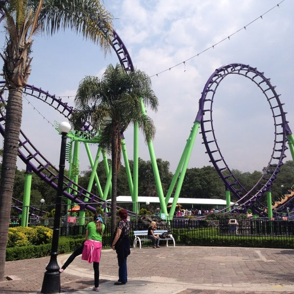 Photo taken at Six Flags México by Lupita M. on 7/16/2013