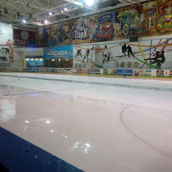 Снимок сделан в Айс Холл / Ice Hall пользователем Света И. 1/15/2014