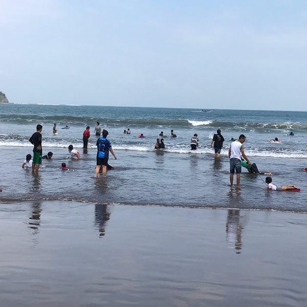 Photo taken at Pantai Barat Pangandaran by Andri R. on 6/26/2017