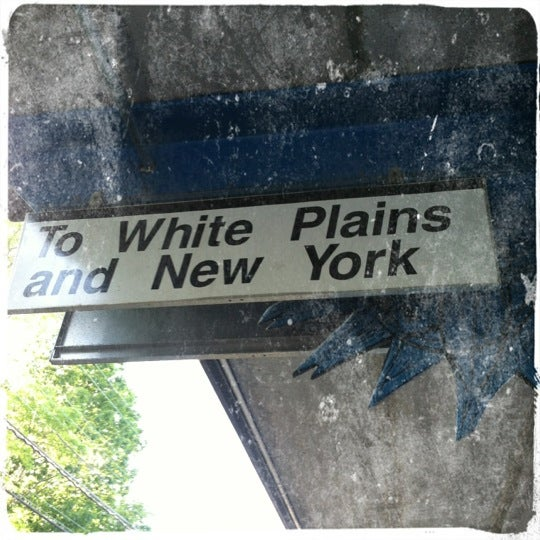 Photo taken at Metro North - North White Plains Station by Jess on 5/19/2012