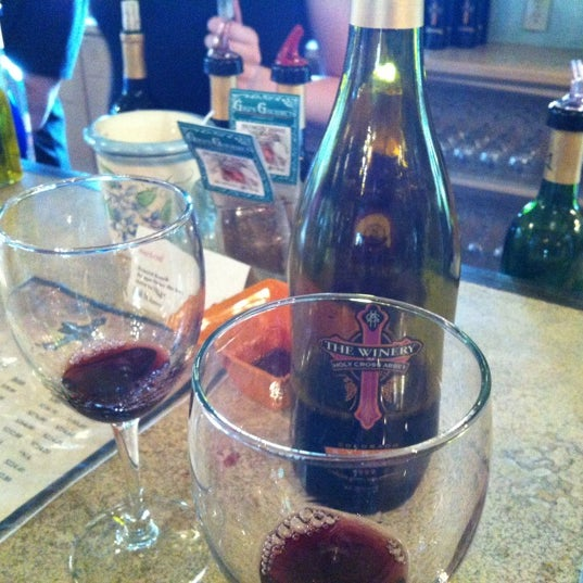 Photo taken at The Winery at Holy Cross Abbey by James S. on 9/1/2012
