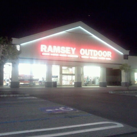 Ramsey Location. Find sturdy, stylish gear to keep you dry and comfortable in any weather at the outdoor store in Ramsey, New Jersey. Ramsey Outdoor gives you a full array of outdoor clothing, footwear and accessories for any outdoor activity or adventure.