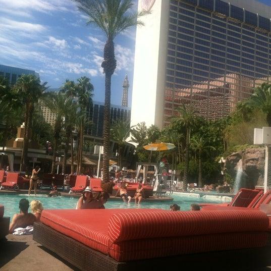 Photo taken at Flamingo GO Pool by Sean on 7/8/2012