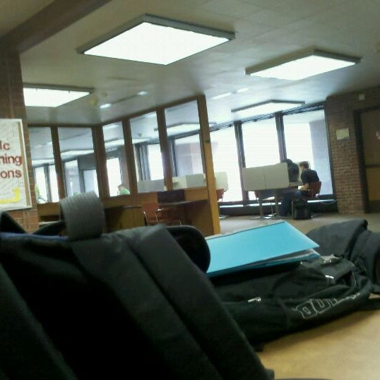 Photo taken at UWM Golda Meir Library by π on 1/30/2012
