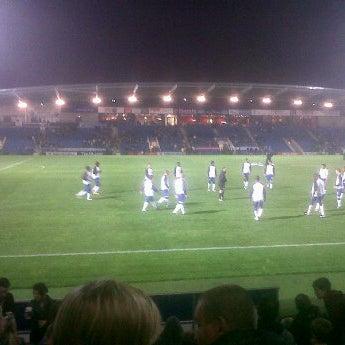 Photo taken at The Proact Stadium by Alfie B. on 10/12/2011
