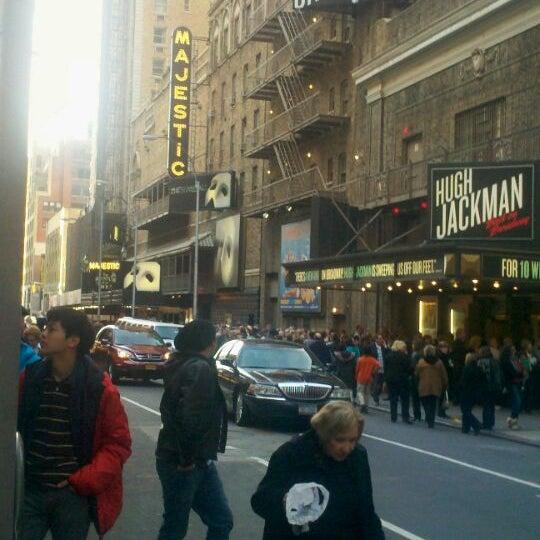 Foto tirada no(a) Majestic Theatre por Linlunson em 11/26/2011