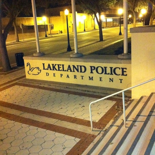 Photo taken at Lakeland Police Department by CEDarrington1906 on 1/18/2012