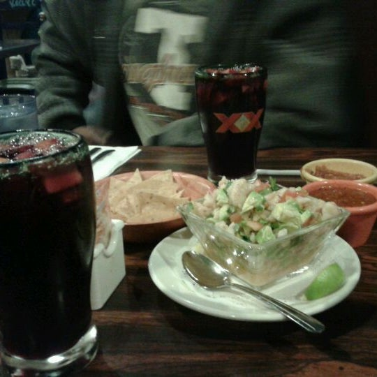 Photo taken at Celia's Mexican Restaurant by Candice J. on 1/27/2012