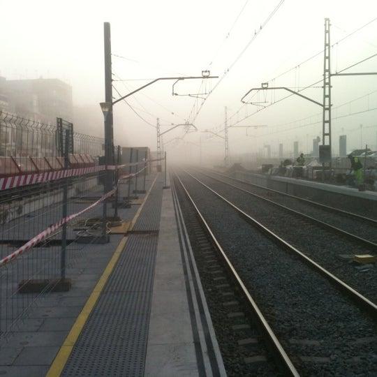 Photo taken at RENFE El Masnou by Strisce L. on 4/7/2011