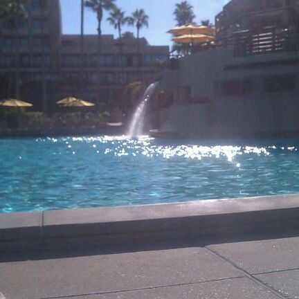 Photo taken at Marriott World Center Pool by Megan S. on 12/17/2011