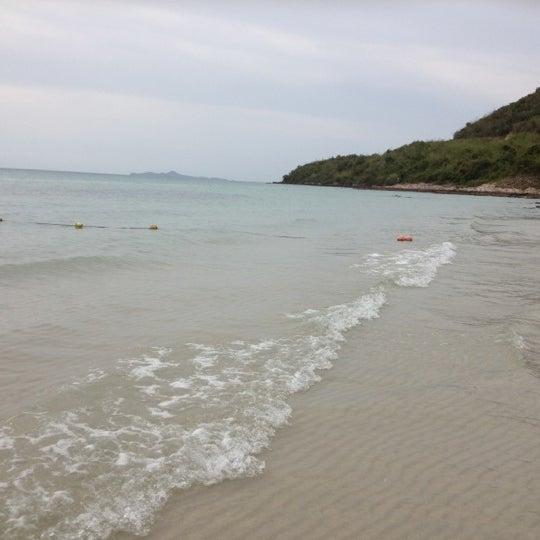 Photo taken at Sai Keaw Beach by phatcharaporn p. on 5/31/2012