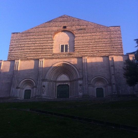 Photo taken at Basilica di San Fortunato by Gastro F. on 8/28/2011