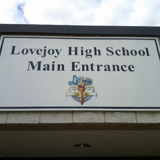 Photo taken at Lovejoy High School by Ceasar A. on 5/22/2012