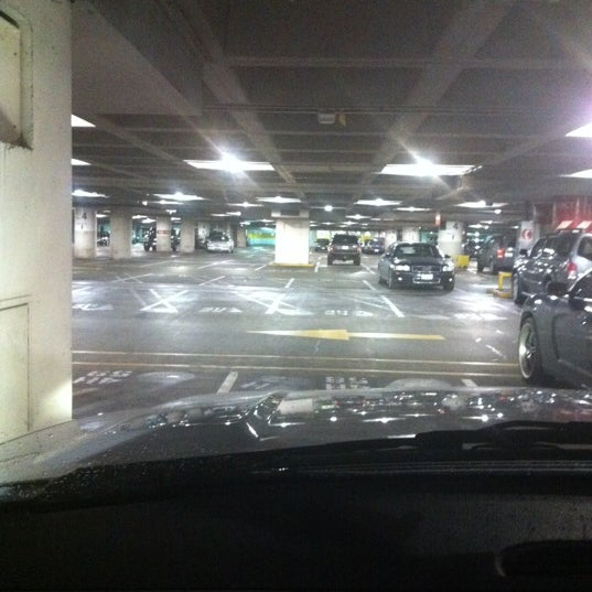 Photo taken at Sea-Tac Airport Parking Garage by Dean A. on 3/5/2012