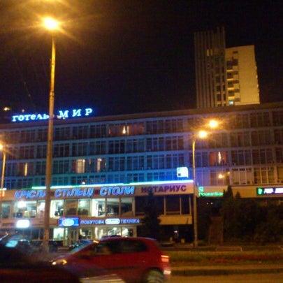 Снимок сделан в Готель «Мир» / Myr Hotel пользователем MISHANQE 8/26/2012