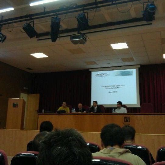Photo taken at Universitat Jaume I (UJI) by German D. on 10/20/2011