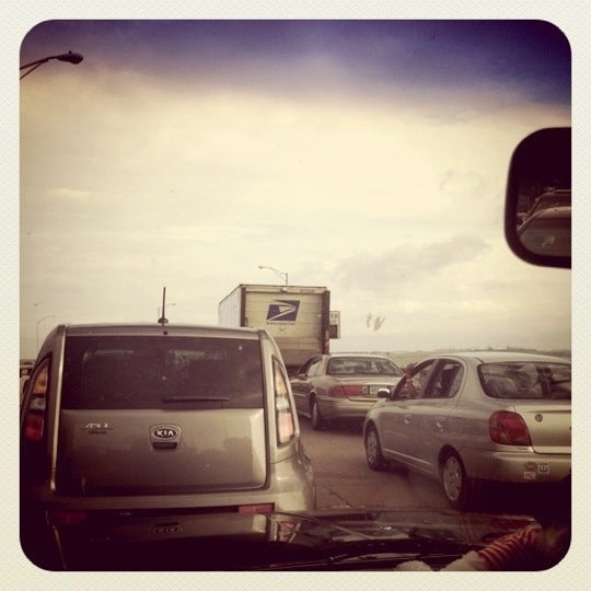 Photo taken at HRBT by Annelei P. on 8/6/2011