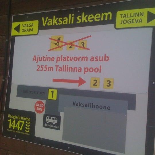 Photo taken at Tartu Raudteejaam by Veljo H. on 1/30/2011
