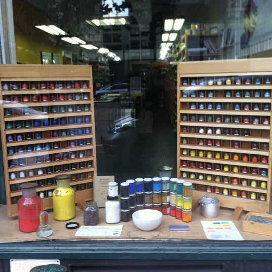 Kremer pigments arts crafts store in new york for Art and craft stores nyc